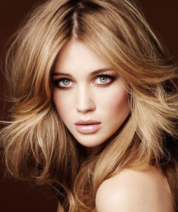 couleur cheveux blond foncé #3